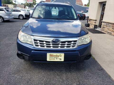 2012 Subaru Forester for sale at Marley's Auto Sales in Pasadena MD