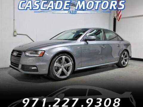 2014 Audi A4 for sale at Cascade Motors in Portland OR