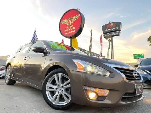 2015 Nissan Altima for sale at Auto Express in Chula Vista CA