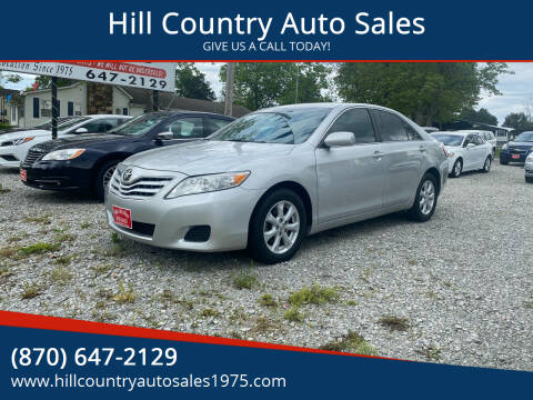 2011 Toyota Camry for sale at Hill Country Auto Sales in Maynard AR