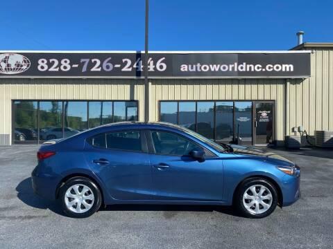 2018 Mazda MAZDA3 for sale at AutoWorld of Lenoir in Lenoir NC