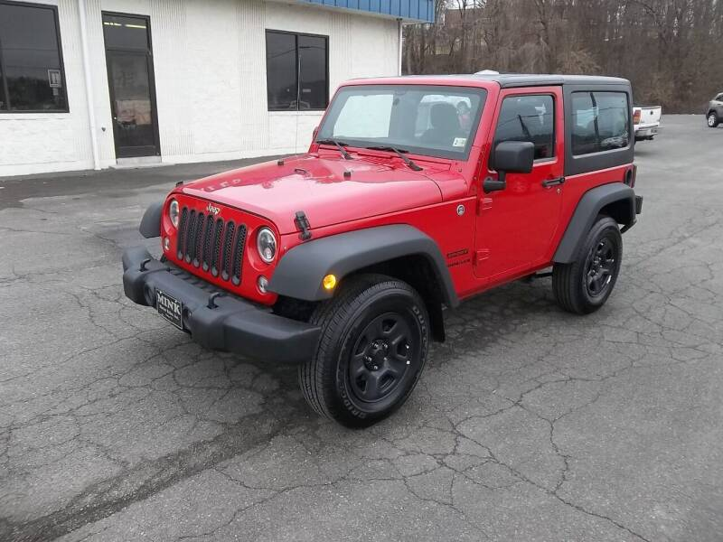 2014 Jeep Wrangler for sale at MINK MOTOR SALES INC in Galax VA