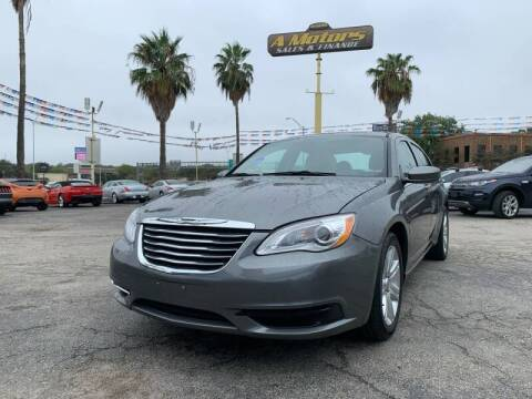 2012 Chrysler 200 for sale at A MOTORS SALES AND FINANCE in San Antonio TX