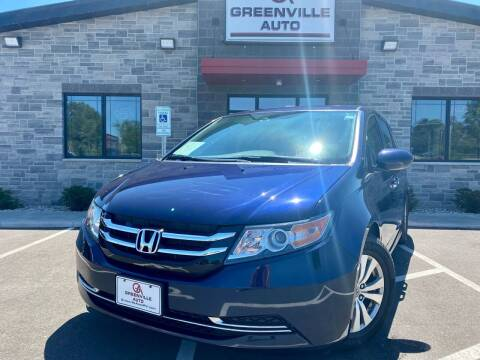 2015 Honda Odyssey for sale at GREENVILLE AUTO in Greenville WI