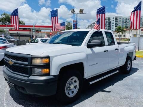 2014 Chevrolet Silverado 1500 for sale at CHASE MOTOR in Miami FL