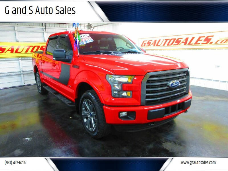 2016 Ford F-150 for sale at G and S Auto Sales in Ardmore TN