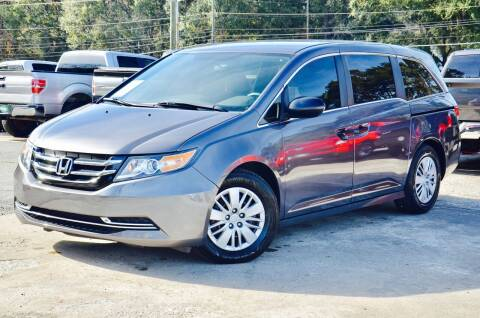 2015 Honda Odyssey for sale at Marietta Auto Mall Center in Marietta GA