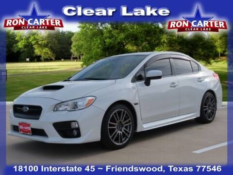 2017 Subaru WRX for sale at Ron Carter  Clear Lake Used Cars in Houston TX