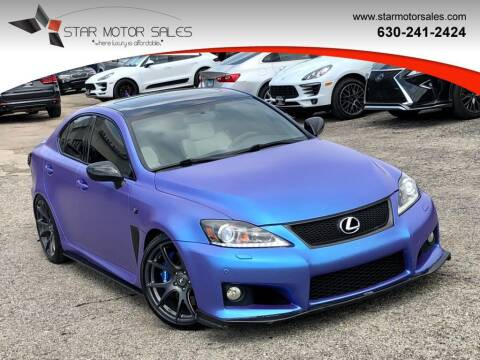 2008 Lexus IS F for sale at Star Motor Sales in Downers Grove IL