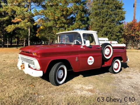 1963 Chevrolet C/K 10 Series for sale at MIDWAY AUTO SALES & CLASSIC CARS INC in Fort Smith AR