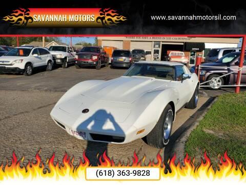 1973 Chevrolet Corvette for sale at Savannah Motors in Cahokia IL