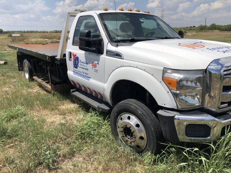 2015 Ford F-550 Super Duty for sale at Big E's Auto Group LC in Marion TX