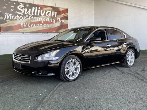 2014 Nissan Maxima for sale at SULLIVAN MOTOR COMPANY INC. in Mesa AZ