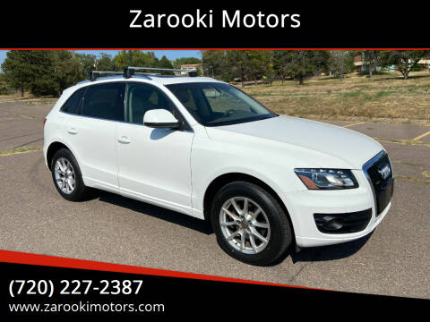 2009 Audi Q5 for sale at Zarooki Motors in Englewood CO
