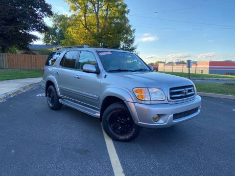 2002 Toyota Sequoia for sale at STARIA AUTO GROUP LLC in Akron OH