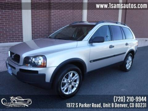 2005 Volvo XC90 for sale at SAM'S AUTOMOTIVE in Denver CO