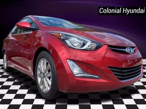 2016 Hyundai Elantra for sale at Colonial Hyundai in Downingtown PA