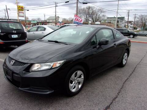 2013 Honda Civic for sale at MIRACLE AUTO SALES in Cranston RI