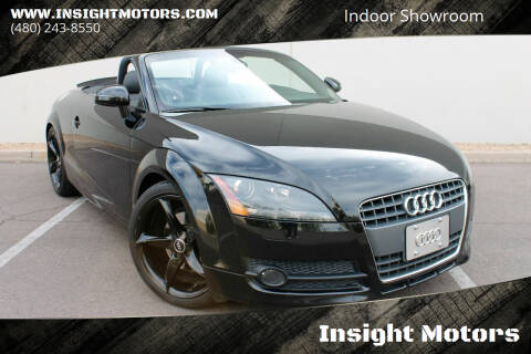 2008 Audi TT for sale at Insight Motors in Tempe AZ
