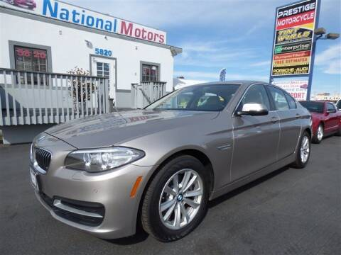 2014 BMW 5 Series for sale at National Motors in San Diego CA