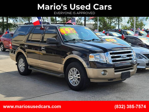 2013 Ford Expedition for sale at Mario's Used Cars - Pasadena Location in Pasadena TX
