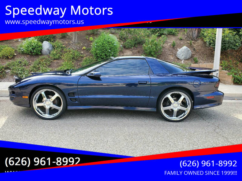 2001 Pontiac Firebird for sale at Speedway Motors in Glendora CA
