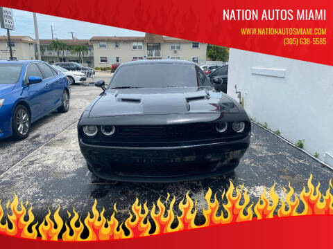 2020 Dodge Challenger for sale at Nation Autos Miami in Hialeah FL