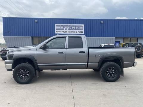 2007 Dodge Ram Pickup 2500 for sale at HATCHER MOBILE SERVICES & SALES in Omaha NE