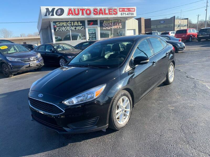 2016 Ford Focus for sale at Mo Auto Sales in Fairfield OH