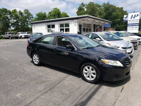 2011 Toyota Camry for sale at Highlands Auto Gallery in Braintree MA