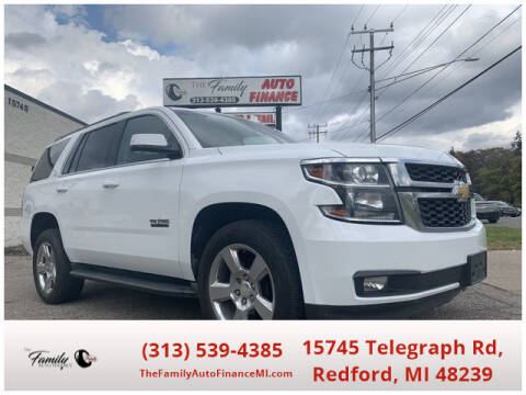 2016 Chevrolet Tahoe for sale at The Family Auto Finance in Redford MI