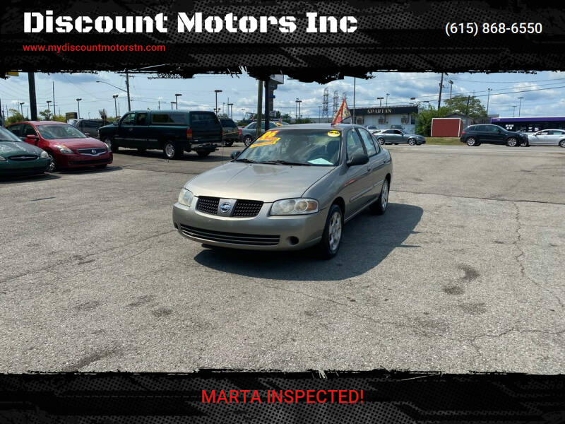 2006 Nissan Sentra for sale at Discount Motors Inc in Madison TN