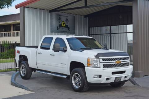 2013 Chevrolet Silverado 2500HD for sale at G MOTORS in Houston TX