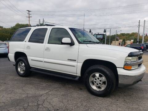 2002 Chevrolet Tahoe for sale at COLONIAL AUTO SALES in North Lima OH