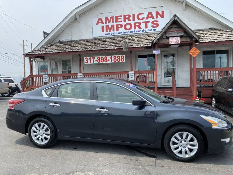 2013 Nissan Altima for sale at American Imports INC in Indianapolis IN