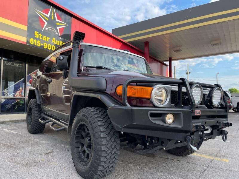 2007 Toyota FJ Cruiser for sale at Star Auto Inc. in Murfreesboro TN