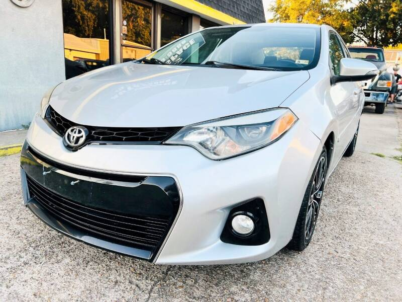 2014 Toyota Corolla for sale at Auto Space LLC in Norfolk VA