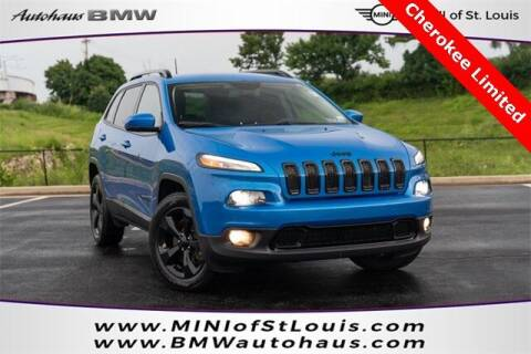 2018 Jeep Cherokee for sale at Autohaus Group of St. Louis MO - 40 Sunnen Drive Lot in Saint Louis MO