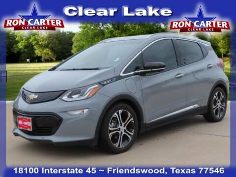 2020 Chevrolet Bolt EV for sale at Ron Carter  Clear Lake Used Cars in Houston TX