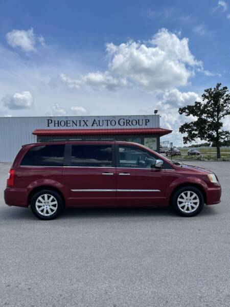 2012 Chrysler Town and Country for sale at PHOENIX AUTO GROUP in Belton TX