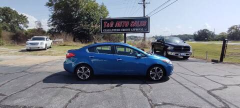 2014 Kia Forte for sale at T & G Auto Sales in Florence AL