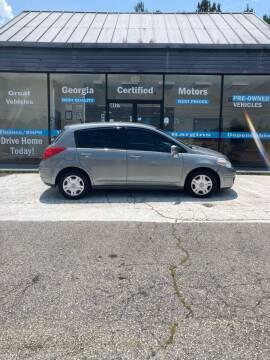 2012 Nissan Versa for sale at Georgia Certified Motors in Stockbridge GA