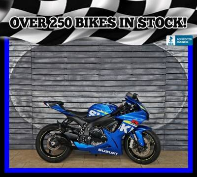 2015 Suzuki GSX-R600 for sale at AZMotomania.com in Mesa AZ