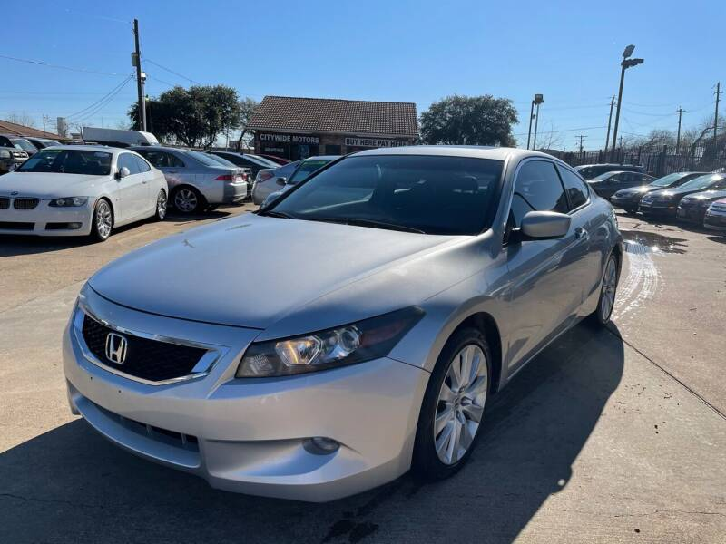 2009 Honda Accord for sale at CityWide Motors in Garland TX