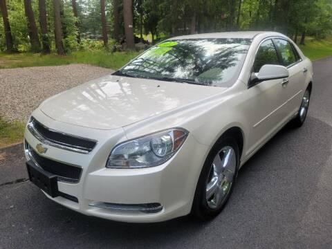 2012 Chevrolet Malibu for sale at Showcase Auto & Truck in Swansea MA