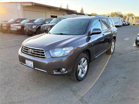 2008 Toyota Highlander for sale at TOP QUALITY AUTO in Rancho Cordova CA