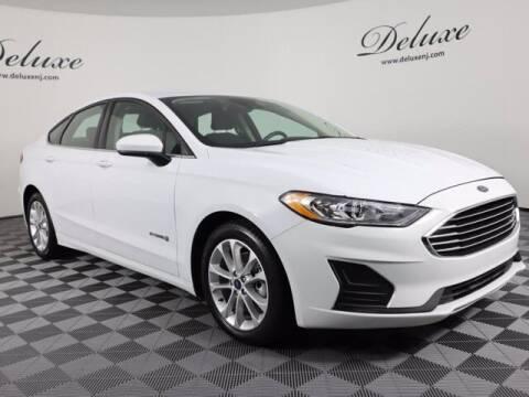 2019 Ford Fusion Hybrid for sale at DeluxeNJ.com in Linden NJ