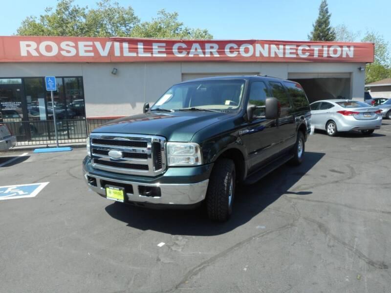 2005 Ford Excursion for sale at ROSEVILLE CAR CONNECTION in Roseville CA