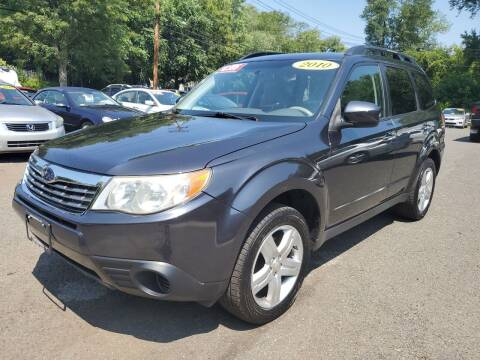 2010 Subaru Forester for sale at CENTRAL AUTO GROUP in Raritan NJ