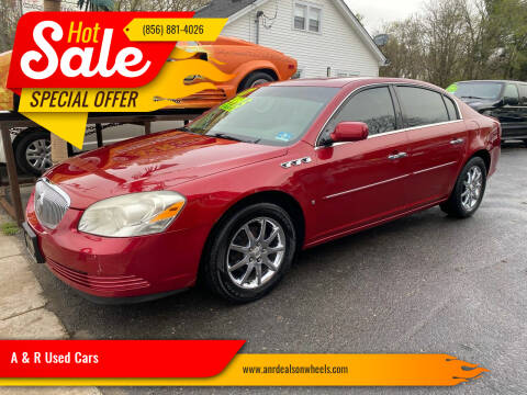 2007 Buick Lucerne for sale at A & R Used Cars in Clayton NJ